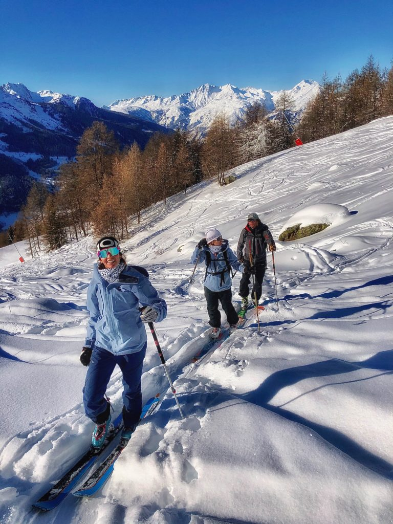 ski de rondo a Tignes